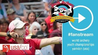Yankton (SD) United States  city photo : #FanStream: USA v Colombia – Compound Junior Women's Team Gold Final | Yankton 2015