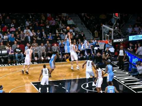 Randy Foye's Crossover and Jumper Rocks Tornike Shengelia