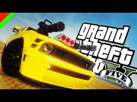 Grand Theft Auto V - ยานยนต์พันธุ์นรก Knight Rider Mod (GTA V Mod,ตลก,ฮา)