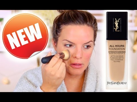 THE BEST FOUNDATION EVER?! NEW FOUNDATION FIRST IMPRESSIONS & WEAR TEST | Casey Holmes