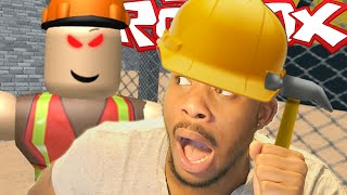 Roblox | ESCAPING A CONSTRUCTION SITE!!