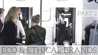 Some more of the brands I met and interviewed at the Ethical Fashion Show and GreenShowroom in Berlin (a trade fair to sell new collections to retailers). - ...