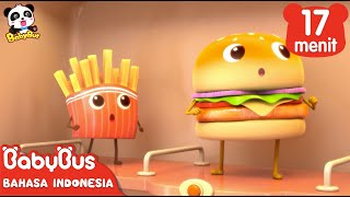 Download Video Hamburger dan Kentang Goreng | Kumpulan Film Hamburger | BabyBus Bahasa Indonesia MP3 3GP MP4