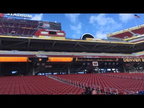 WATCH: First Look Inside LEVI's Stadium