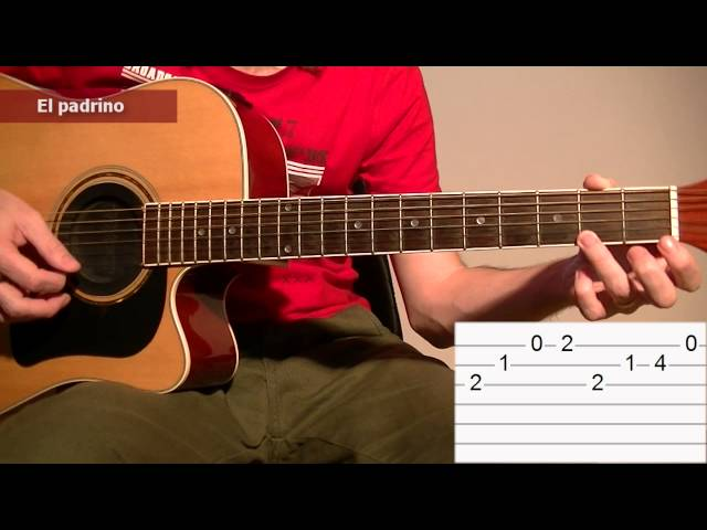 How To Play The Godfather Theme Song Acoustic Guitar Tab Lesson Tcdg : Mp3DownloadOnline.com