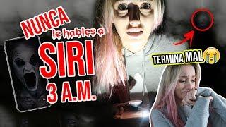 Video NUNCA le HABLES a SIRI a las 3:00 A.M. 😱 *RETO PARANORMAL* ¡TERMINA MAL! | Katie Angel MP3, 3GP, MP4, WEBM, AVI, FLV Januari 2019