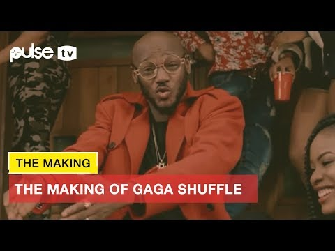 The Making Of Gaga Shuffle By 2face Idibia Produced By Dapiano | Pulse TV