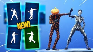 *NEW* Fortnite Season 6 Emotes & Skins Leaked! (Electro Swing, Headbanger, Sprinkler, Behold!)