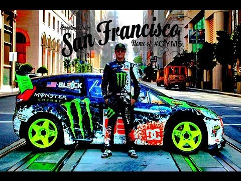 ken block san francisco drift (2013)