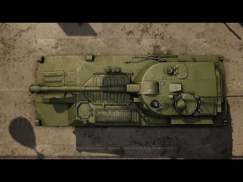 Armored Warfare. 2С1 Гвоздика.