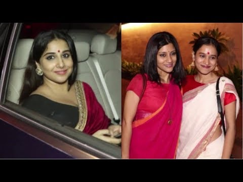 Vidya Balan, Konkona Sen Sharma And Many Celebs Spotted At Jalsa