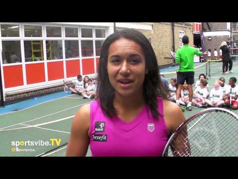 Heather Watson Talks About Her Rivalry With Laura Robson & The Talent Within British Women's Tennis