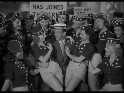 "Fred Astaire - ""Shootin' the Works for Uncle Sam"" (From ""You'll Never Get Rich"" 1941)"