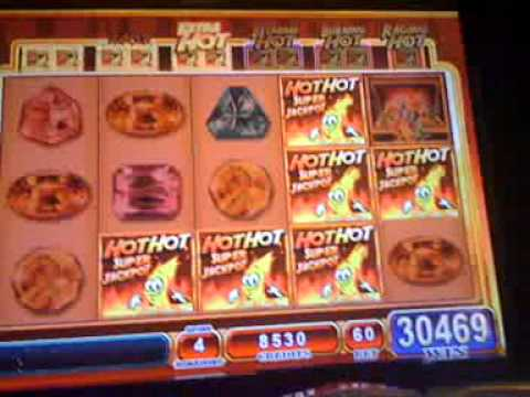 Hot Hot Super Jackpot slot machine WIN