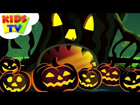 halloween tree scary nursery rhymes halloween songs for children kids by kids tv