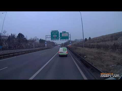 Hromadná nehoda Praha Černý Most 25.01.2019