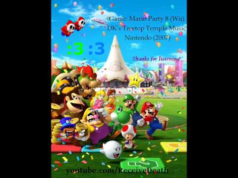 Mario Party 8 (OST) - DK's Treetop Temple Music!