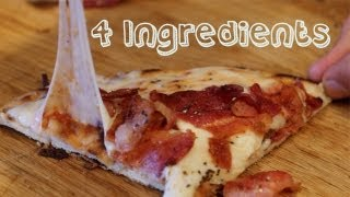 Ingredients: flatbread bacon (or toppings of choice) mozzarella cheese shredded (or cheese of choice or none at all yeya!) pizza...