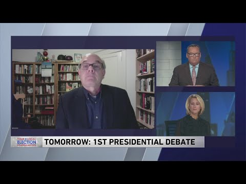 Senior editor at Washington Post previews first presidential debate