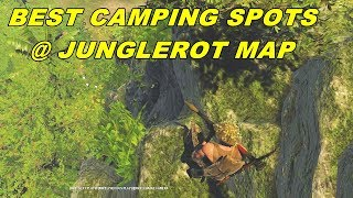 This is Jungle Rot a new map in Rising Storm 2 Vietnam, probably one of the best maps in the game, featuring dense jungles in the mountains.Today Ill show you the 2 best camping locations and also how to reach them. One of them can be reached by Americans and VC, the other one, only by VCThe best weapons for this location seems to be the RPG and Dragunov Sniper rifle. But watch out, even the highest spots on this location are within the deadly grasp of a flamethrower. I got burned to a crisp in one instance before. Americans cannot climb the vines that lead up, however they have a different spot that they can reach, from which they can camp B. I'll show you this other location in this video too.Checking the map to see where I am,  now look ahead of you, there should be a bridge visible, approach the bridge in this angle and you will reach your destination, now climb these vines, then these vines, then these rocks and you are here. It's great that there is an ammo crate here, although you won't really be needing it unless you are an RPG man.As an American or VC, whichever you like, if you want to camp B, reaching the camping location is a little bit tricky, but allows you to camp not only B, but also an entrance that leads to B, giving you multiple locations from which to snipe your enemies.Tags: kenzugaming, games, game, video games, pc games