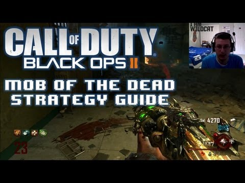 Black Ops 2 Mob Of The Dead Complete Solo Strategy Guide Walkthrough  | FULL Rounds 1-25 W/ Facecam