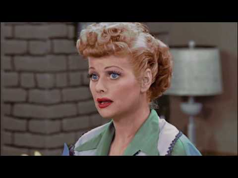I colorize black and white TV shows, and I just finished this scene from I Love Lucy (1953)