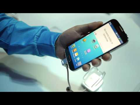 Demos of Galaxy S 4's new features