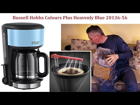 De ce am cumparat o cafetiera simpla ca Russell Hobbs Colours Plus Heavenly Blue 20136-56
