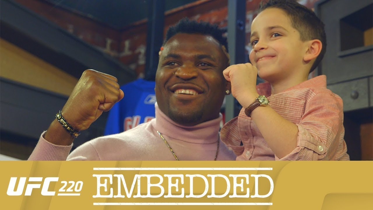 UFC 220 Embedded: Vlog Series - Episode 2