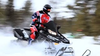 9. 2013 Polaris Switchback Adventure 800 Snowmobile Review