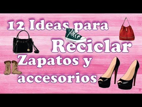 Reciclar sapatos e acessórios
