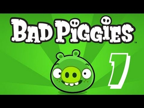 Let's Play Bad Piggies - 01 - You Are Bad... Pig!
