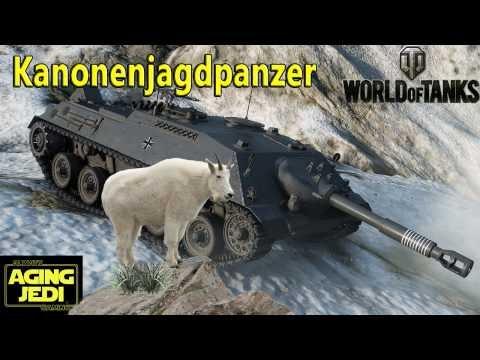 Kanonenjagdpanzer goes Mountain-Goating! - World of Tanks (видео)