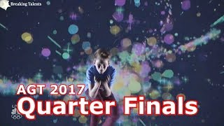 Merrick Hanna w Judges Comments Quarter Finals America's Got Talent 2017 Live Round 2 America's Got Talent Official site: ...