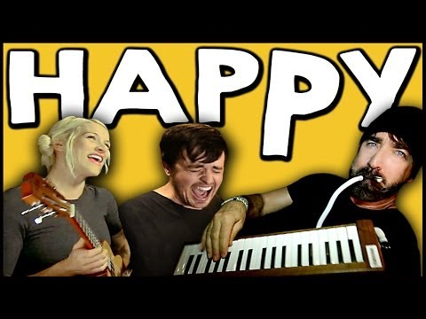 Walk off the Earth Ft. Parachute - Happy