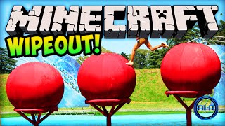 Minecraft Wipeout - TOTAL WIPEOUT (PARKOUR)! - Minecraft w/ Ali-A!