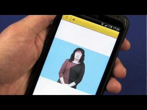 Video of FingerSpell