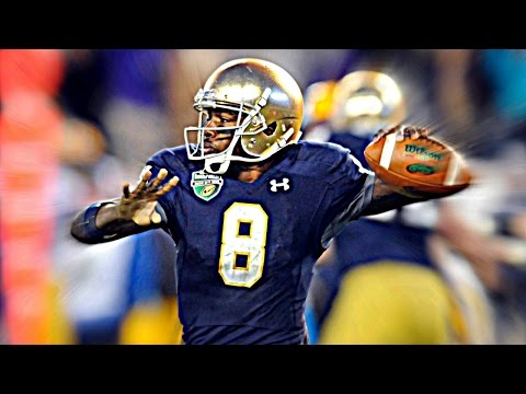 What Notre Dame Fans Can Expect From Malik Zaire   CampusInsiders (видео)