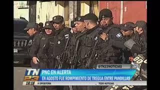 Diferentes instituciones podrían ser blanco de ataques de las pandillas del Barrio 18 y la Mara Salvatrucha, conmemorando el rompimiento de la tregua entre ambas organizaciones delictivas. Este mes fue el rompimiento de tregua entre pandillas