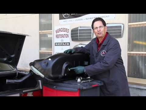 Fixing a Mercedes Diesel Power Loss Problem: Kent Shows You One Thing You Must Check