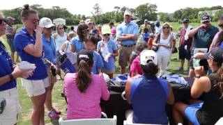 Champion Anna Nordqvist Talks About the ShopRite LPGA Classic