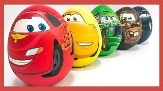 Video Игрушки Молния Маквин Тачки сюрприз. Яйца с сюрпризом  #мультачки #яйцо #игрушка #сюрприз MP3, 3GP, MP4, WEBM, AVI, FLV Juni 2019
