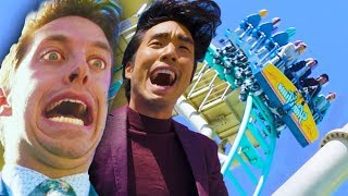 Video The Try Guys Crash Test A New Roller Coaster MP3, 3GP, MP4, WEBM, AVI, FLV Oktober 2018
