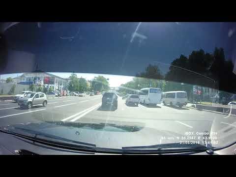 Участник массового ДТП в Нижнем Новгороде опубликовал видео аварии со своего регистратора