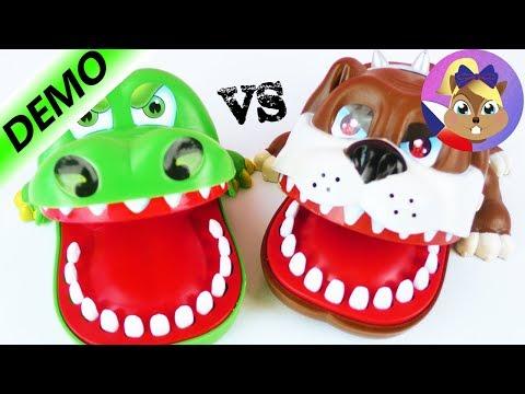 Crocodile Dentist vs. Biting Bulldog_Ön is fél a fogorvosnál? De mit csinálnak mások?