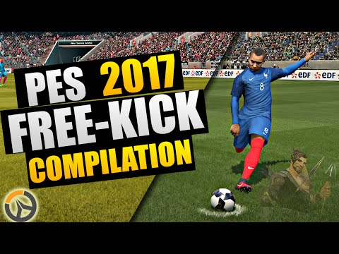 "PES 2017 - ""Overwatch"" Free-Kick Compilation by Weedens"