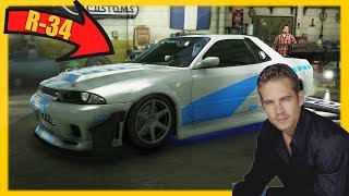 Nonton GTA 5 Paul Walker's Nissan Skyline R34! (GTA 5 Online Brian's Skyline Export-Import DLC Rare Car) Film Subtitle Indonesia Streaming Movie Download