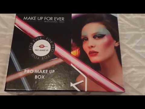 Лимитка GLAMBOX MAKE UP FOR EVER в ноябре 2017