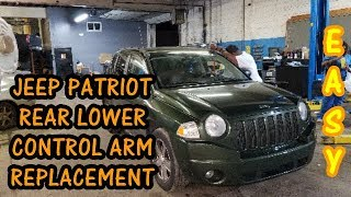 Video How To Replace Rear Lower Control Arm 2007-2017 Jeep Compass MP3, 3GP, MP4, WEBM, AVI, FLV Juni 2018