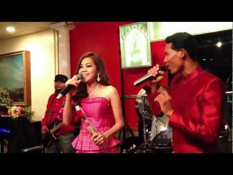 Live Music #2 - Chhoun Sreymao & Yoeurn Phirum - At Dragon Court Restaurant